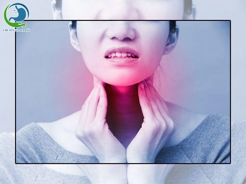 Trào ngược dạ dày gây khó thở dẫn đến ung thư thực quản