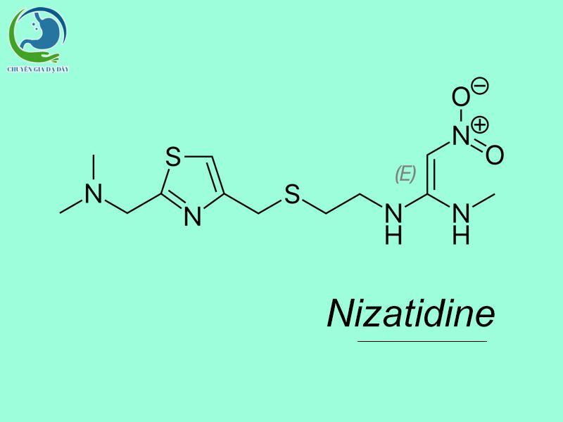 Công thức hóa học của Nizatidine