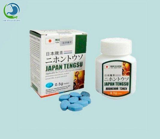Viên uống tăng cường sinh lý Japan Tengsu