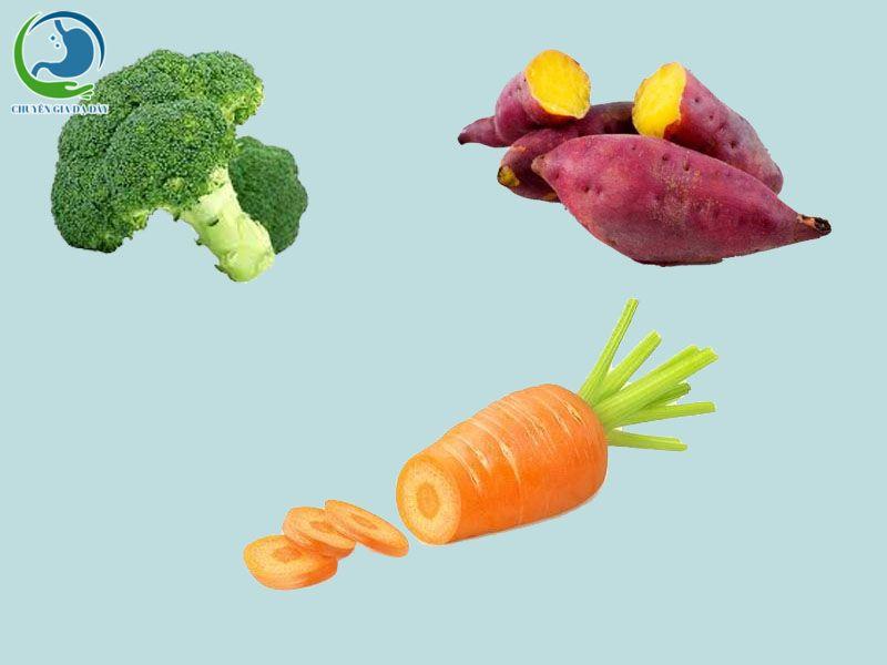 Một số thực phẩm dành cho trẻ bị trào ngược dạ dày