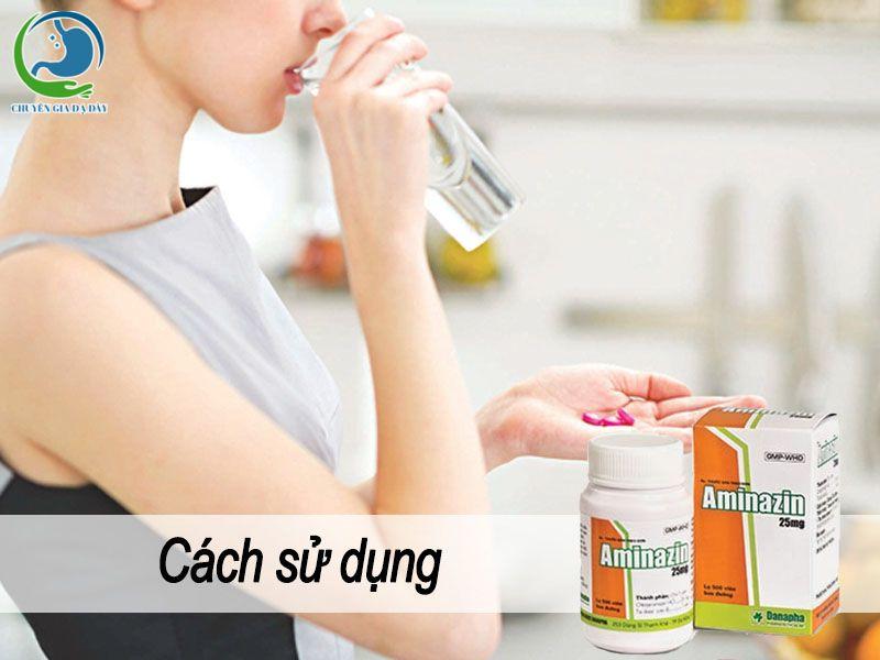 Cách sử dụng Aminazin