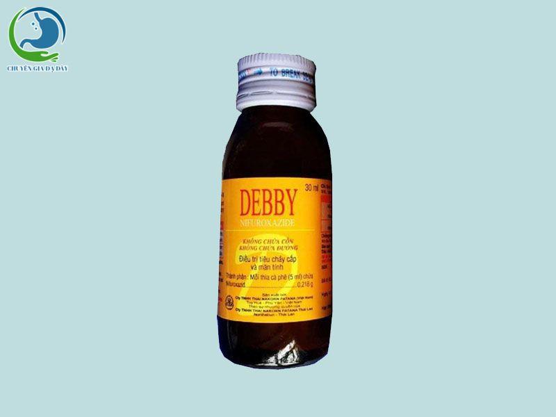 Lọ  thuốc Debby
