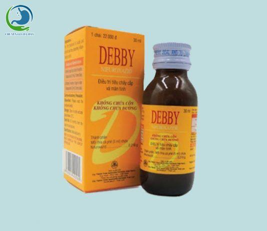 Thuốc tiêu chảy Debby