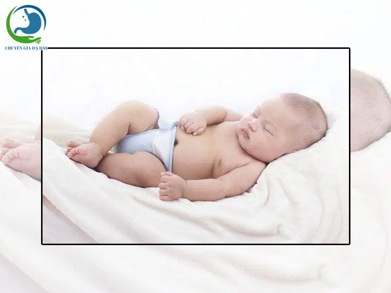 Tư thế ngủ cho trẻ