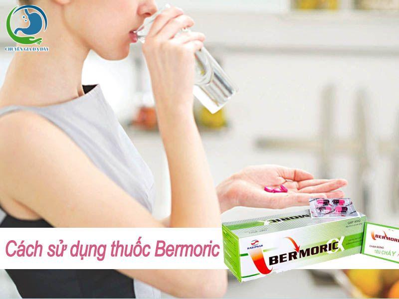 Cách sử dụng thuốc Bermoric