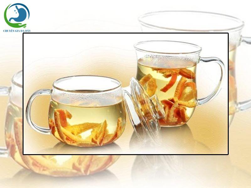 Trị tiêu chảy bằng nước vỏ cam