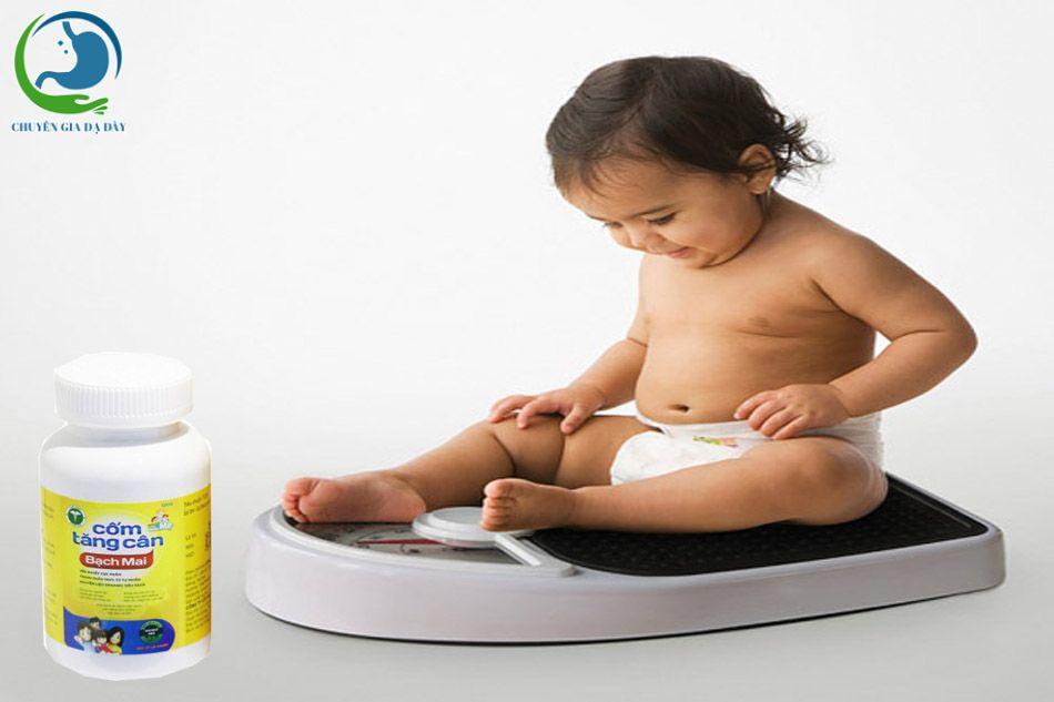 Công dụng của cốm tăng cân Bạch Mai